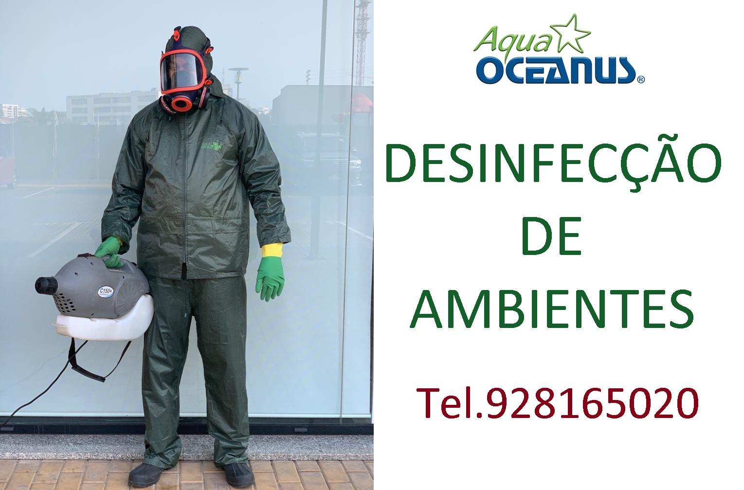 DESINFECÇÃO AQUA-OCEANUS